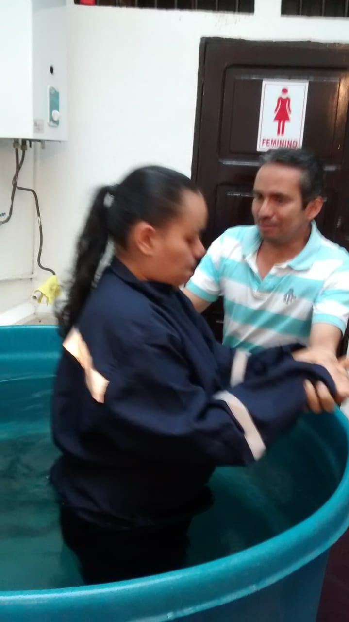 Bautismo – Jenifer Andrea Botero Hernández