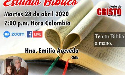 Estudio Bíblico – Hno. Emilio Acevedo