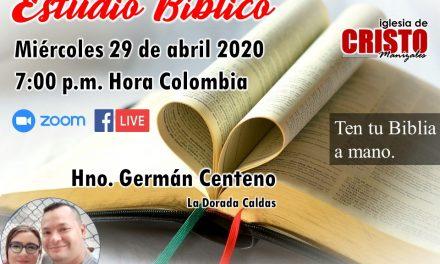 Estudio Bíblico – Hno. Germán Centeno