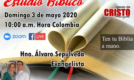 Estudio Dominical 3 de mayo 2020